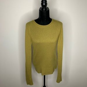 J. Crew Cashmere Blend Crewneck Sweater Medium